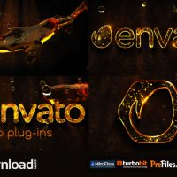 LIQUID GOLD LOGO (VIDEOHIVE TEMPLATE) FREE DOWNLOAD