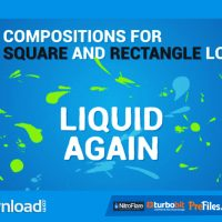 LIQUID LOGO REVEAL AGAIN – (VIDEOHIVE TEMPLATE) – FREE DOWNLOAD