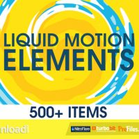 LIQUID MOTION ELEMENTS – (VIDEOHIVE TEMPLATE) – FREE DOWNLOAD