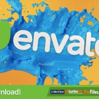 VIDEOHIVE LIQUID SPLASH TITLES – FREE DOWNLOAD