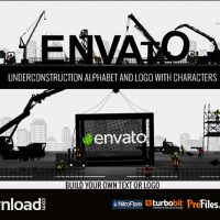 LOGO CONSTRUCTOR-ALPHABET BUILDER WITH CHARACTERS (VIDEOHIVE PROJECT) – FREE DOWNLOAD