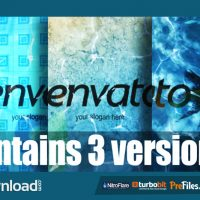 LOGO IN WATER (VIDEOHIVE PROJECT) – FREE DOWNLOAD