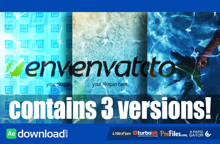 Logo In Water Free Download After Effects Templates