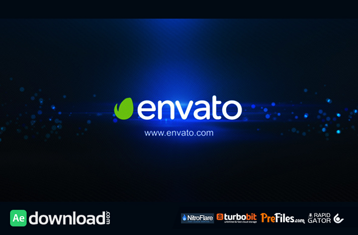 Logo Intro Elegance Flare Black Free Download After Effects Templates