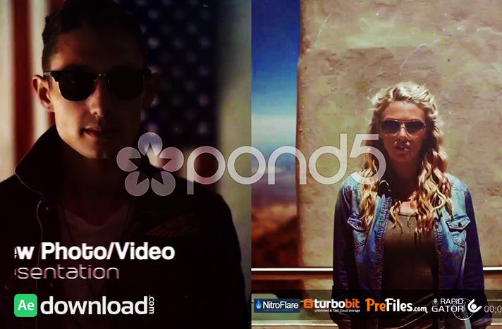 MODERN SLIDESHOW - SLIP AND SLIDE (POND5) Free Download After Effects Templates
