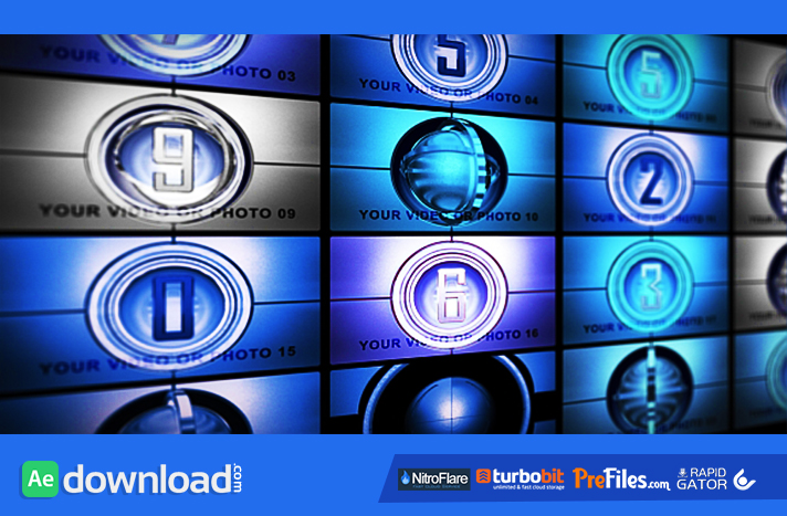 MULTYSCREENS Free Download After Effects Templates