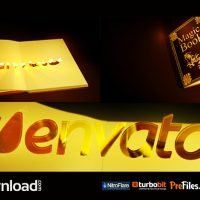 Magic Book- (VIDEOHIVE TEMPLATE) – FREE DOWNLOAD