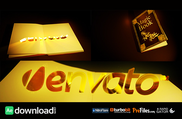 Magic Book Free Download After Effects Templates