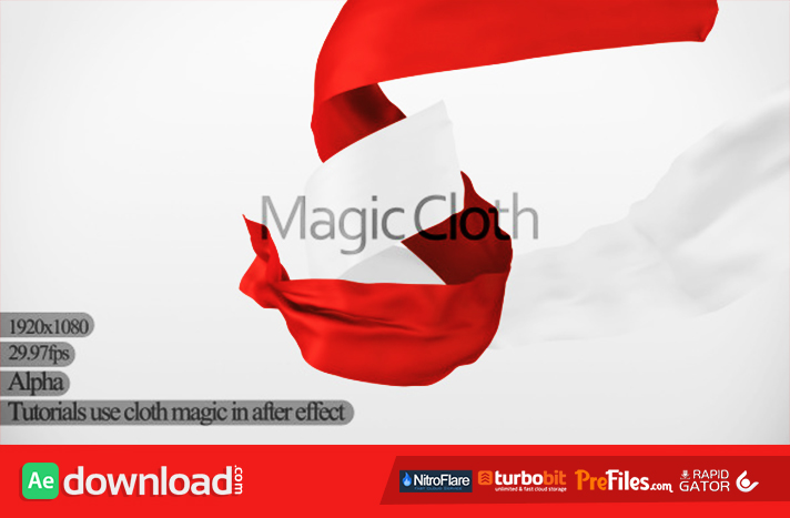 Magic Cloth Free Download After Effects Templates