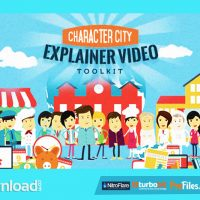 MEGA EXPLAINER TOOLKIT CHARACTER CITY (VIDEOHIVE PROJECTS) – FREE DOWNLOAD