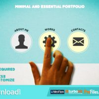 MINIMAL AND ESSENTIAL PORTFOLIO (VIDEOHIVE PROJECT) – FREE DOWNLOAD