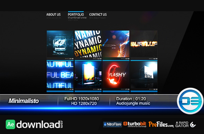 Minimalisto Free Download After Effects Templates