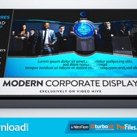 MODERN CORPORATE DISPLAY (VIDEOHIVE PROJECT) – FREE DOWNLOAD