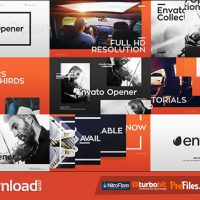 VIDEOHIVE MODERN OPENER + 33 LOWER THIRDS – FREE DOWNLOAD