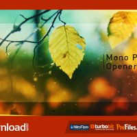 MONO PHOTO OPENER – (VIDEOHIVE TEMPLATE) – FREE DOWNLOAD