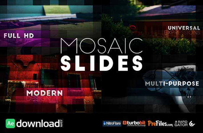 Mosaic Slides Free Download After Effects Templates