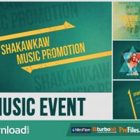 VIDEOHIVE MUSIC EVENT PROMO – FREE DOWNLOAD