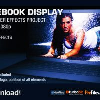 NOTEBOOK DISPLAY (VIDEOHIVE PROJECT) – FREE DOWNLOAD