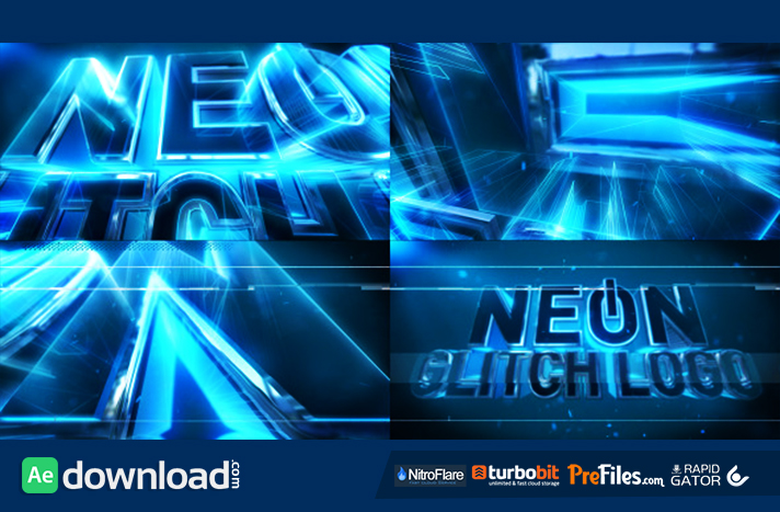 Neon Text Generator After Effects Project – Fondos de Pantalla