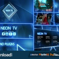 VIDEOHIVE NEON TV BROADCAST PACKAGE – FREE DOWNLOAD