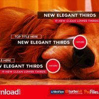 NEW ELEGANT THIRDS (VIDEOHIVE) – FREE DOWNLOAD