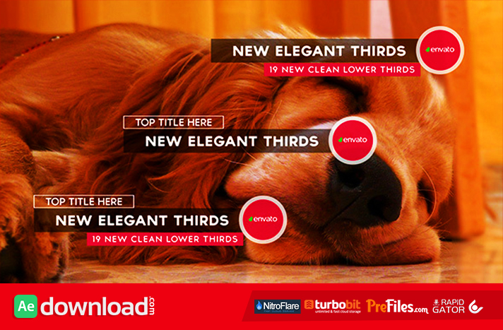New Elegant Thirds Free Download After Effects Templates