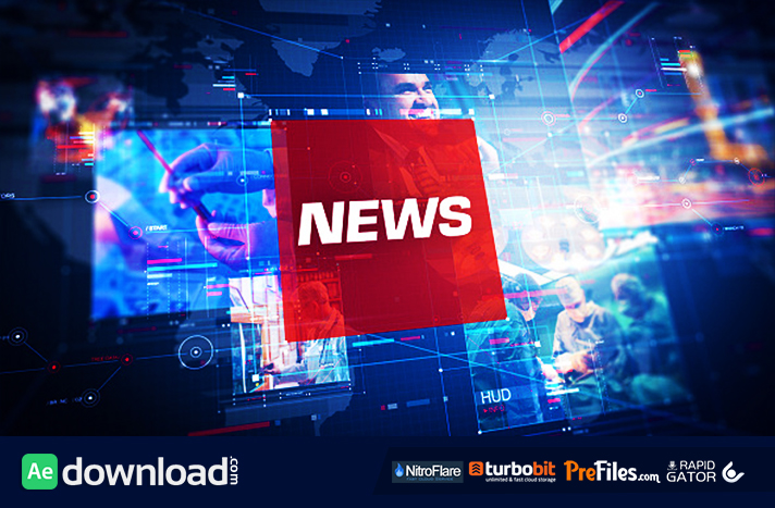 news pro free download after effects templates