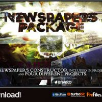 NEWSPAPERS PACKAGE (VIDEOHIVE PROJECT) – FREE DOWNLOAD