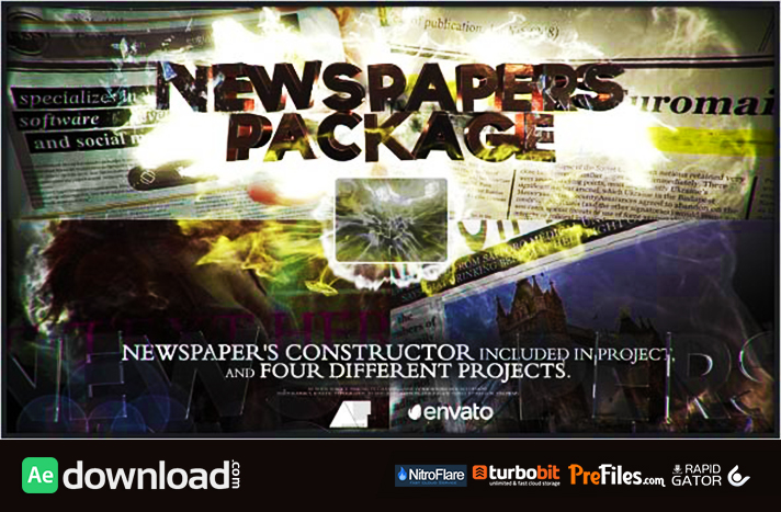 Newspapers Package Free Download After Effects Templates