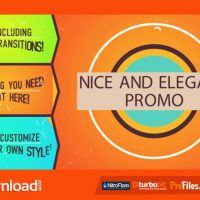 NICE AND ELEGANT PROMO – (VIDEOHIVE TEMPLATE) – FREE DOWNLOAD