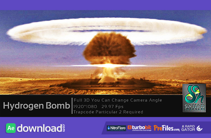 Nitrogen Bomb Free Download After Effects Templates