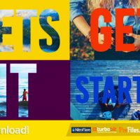 COLORFUL OPENER – DYNAMIC TITLES – (VIDEOHIVE TEMPLATE) – FREE DOWNLOAD