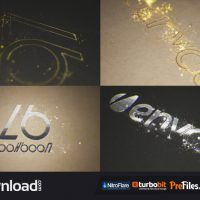 ORGANIC PARTICLE LOGO (VIDEOHIVE) – FREE DOWNLOAD