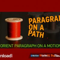 PARAGRAPH ON A PATH (AESCRIPTS) – FREE DOWNLOAD