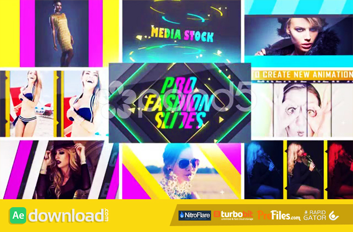 PRO FASHION SLIDES Free Download After Effects Templates