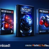 PRO SHADERS 2 + BACKLIGHT + MOTION DESIGN 2 (WIN) – VIDEO COPILOT – FREE DOWNLOAD