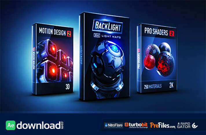 PRO SHADERS 2 BACKLIGHT Free Download After Effects Templates