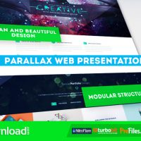 PARALLAX WEB PRESENTATION (VIDEOHIVE PROJECT) – FREE DOWNLOAD