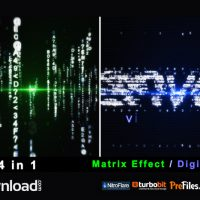 PARTICLE EFFECT 4 (DIGITAL CODE AND MATRIX) (VIDEOHIVE PROJECT) – FREE DOWNLOAD