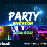 PARTY INVITATION (VIDEOHIVE PROJECT) – FREE DOWNLOAD
