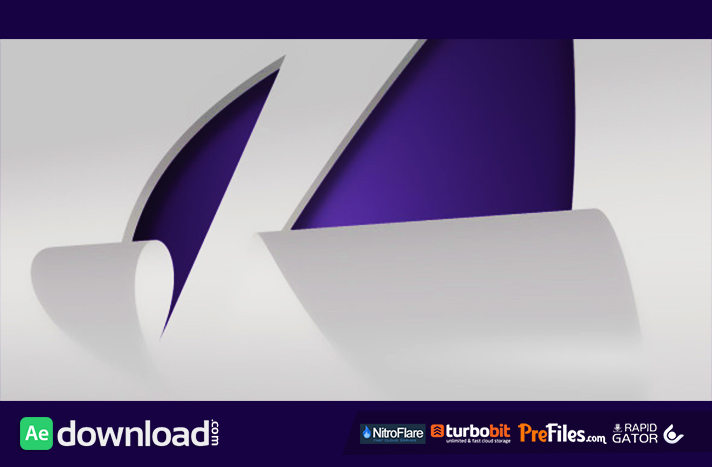 Peel It Logo Reveal Free Download After Effects Templates