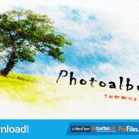 PENCIL WATERCOLOR PHOTO ALBUM (VIDEOHIVE PROJECT) – FREE DOWNLOAD