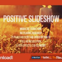 POSITIVE SLIDESHOW (VIDEOHIVE) – FREE DOWNLOAD