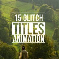 VIDEOHIVE GLITCH TITLES – FREE DOWNLOAD