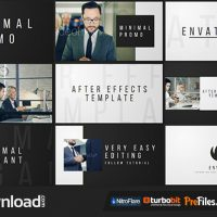VIDEOHIVE MINIMAL PROMO – FREE DOWNLOAD