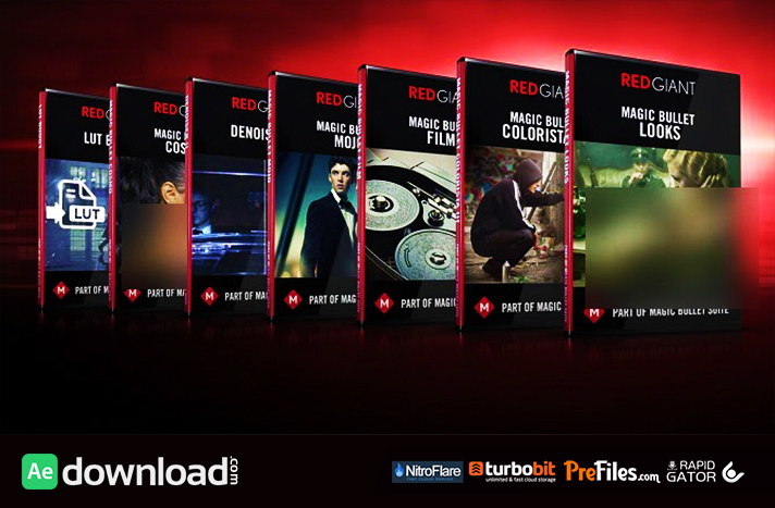 RED GIANT MAGIC BULLET SUITE V12.0.4 (WIN64) Free Download After Effects Templates