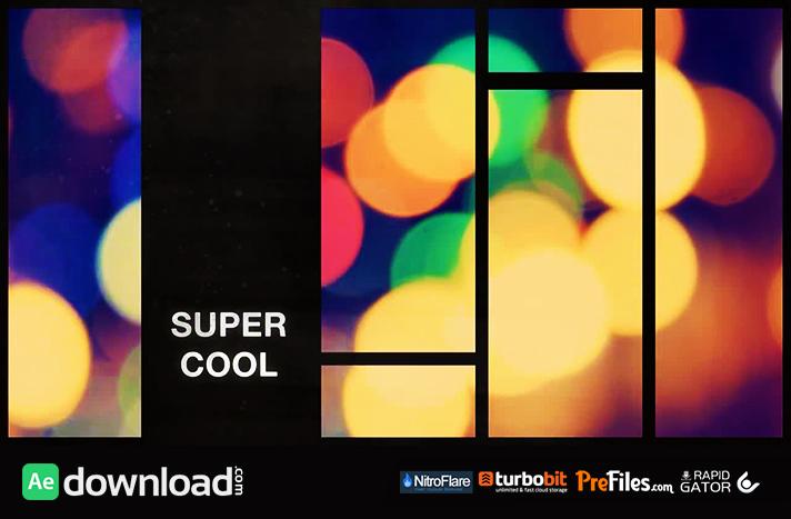 RETRO SPLIT FRAME SLIDESHOW (MOTION ARRAY) Free Download After Effects Templates