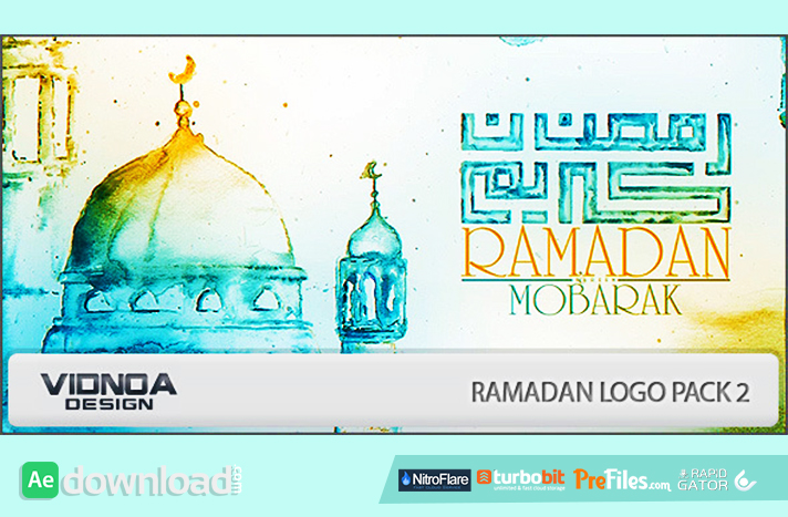 Ramadan Logo Pack 2 Free Download After Effects Templates