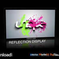 VIDEOHIVE REFLECTION DISPLAY  – FREE DOWNLOAD