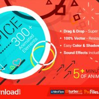 SPICE – 300+ ANIMATED ELEMENTS – (VIDEOHIVE TEMPLATE) – FREE DOWNLOAD